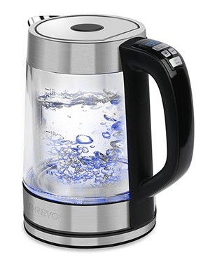 brevo glass temperature controlled kettle