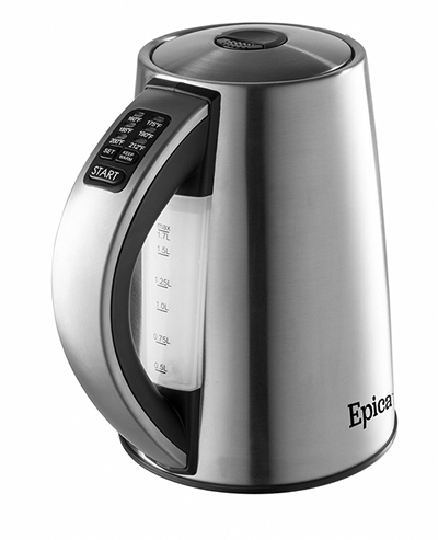 epica temperature controlled kettle