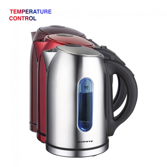 colors of ovente temperature kettle