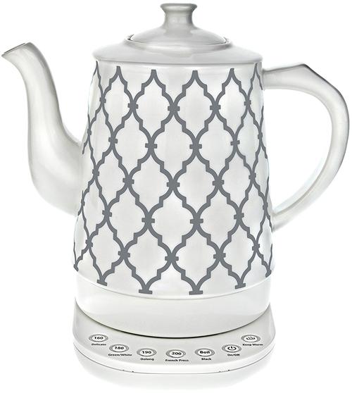 W&E Ceramic temperature controlled kettle