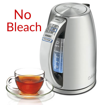 no bleach in variable kettle