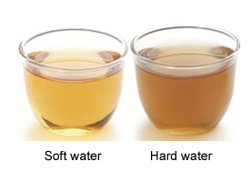 soft vs hard water tea