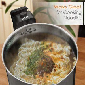 nutrichef kettle cooking noodles