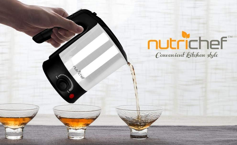 nutrichef variable kettle lifestyle