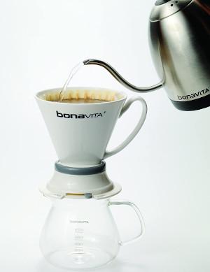 coffee pouring gooseneck kettle