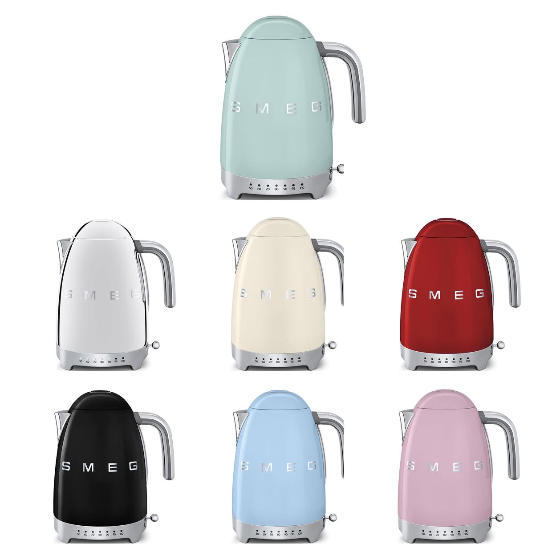 mix of Smeg variable temperature kettles