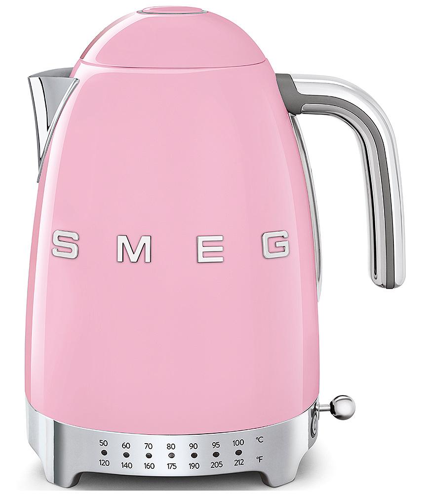 Smeg pink variable temperature kettle