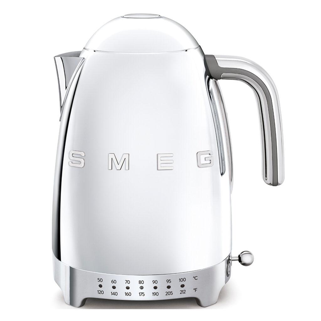 Smeg polished variable temperature kettle