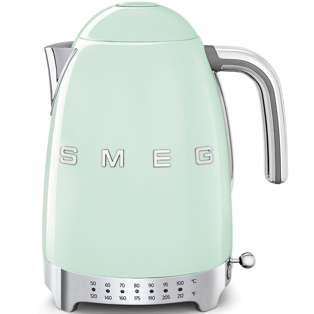 Smeg green variable temperature kettle