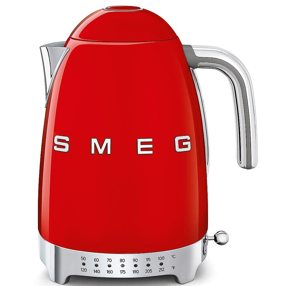 Smeg red variable kettle