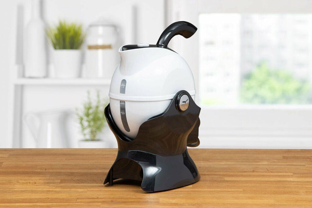 Uccello black & white kettle tipper