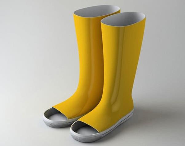 useless wellie sandals